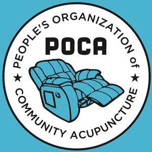 POCA Logo blue and white